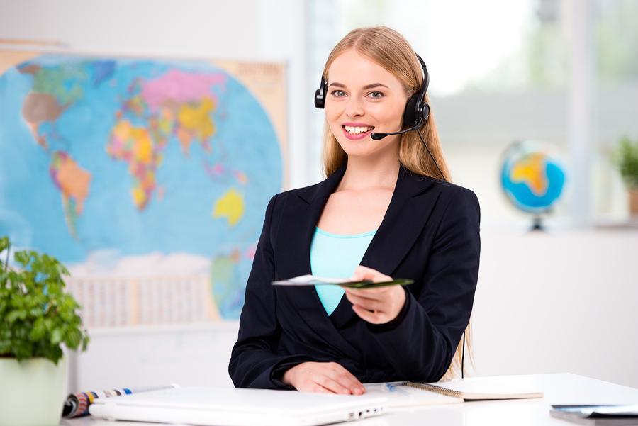 online customer service for travelling website