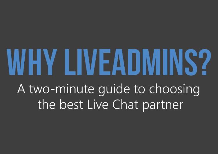 Why LiveAdmins