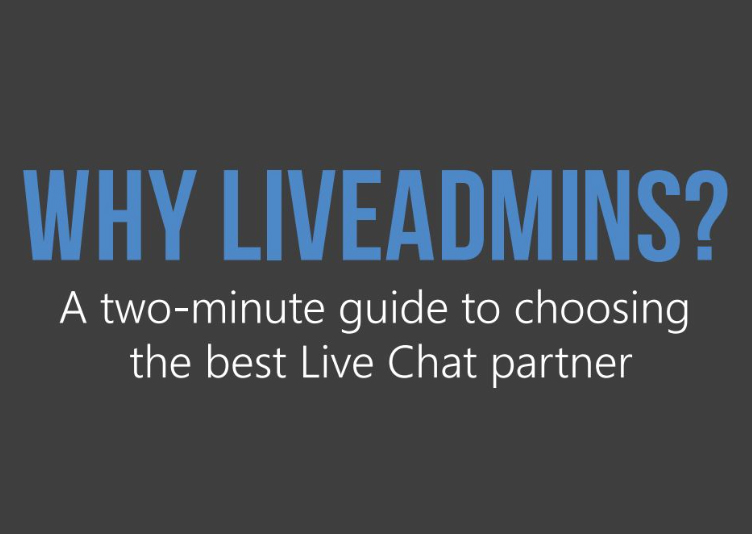 Why LiveAdmins?