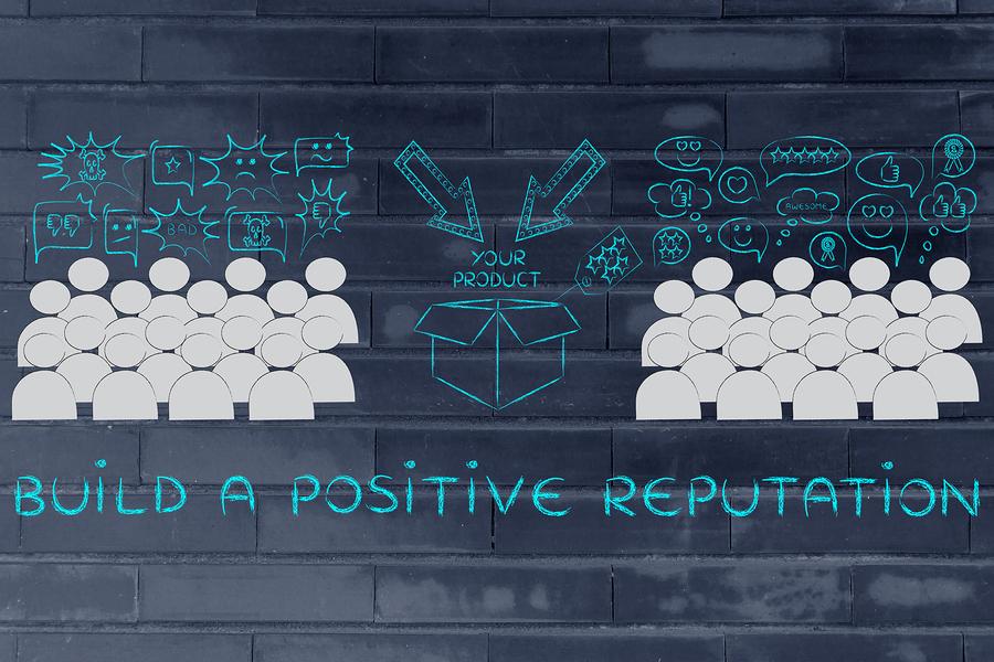 build a positive brand image