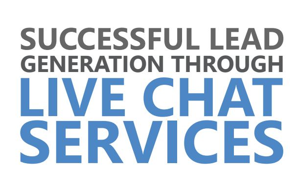 lead generation through live chat