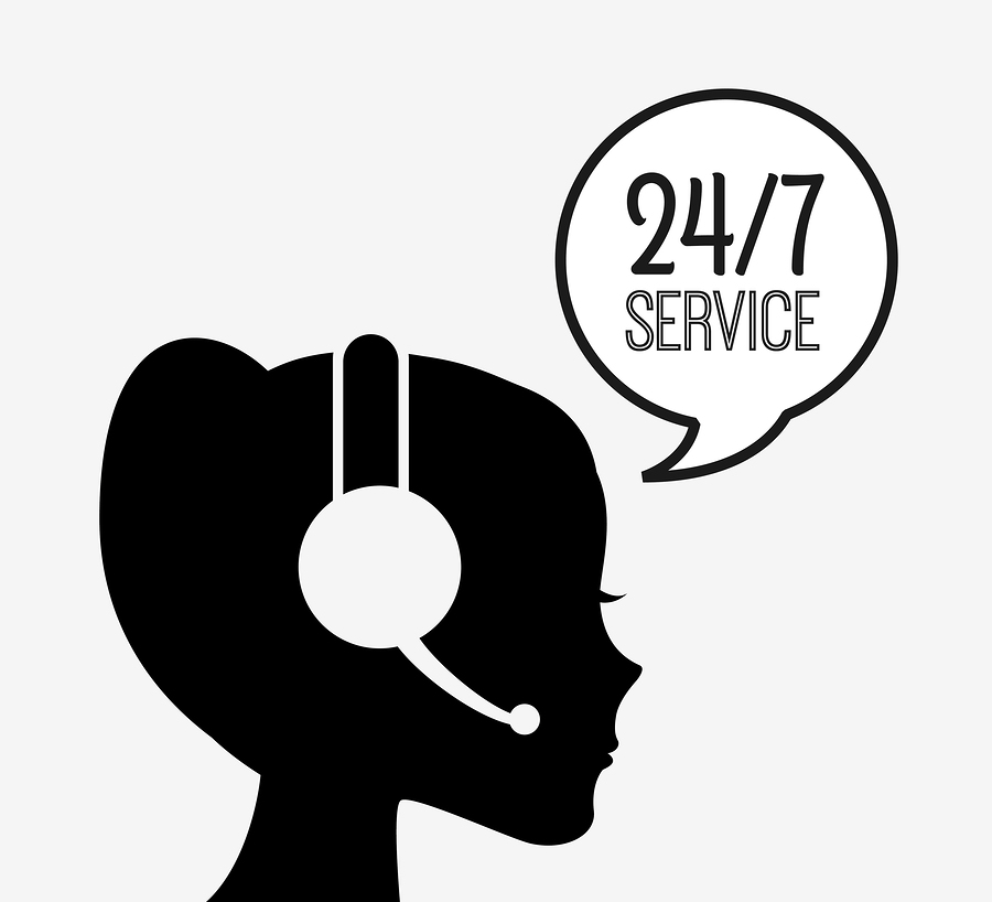 24 hour Customer Support