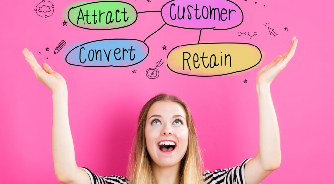 Techniques to retain online customers