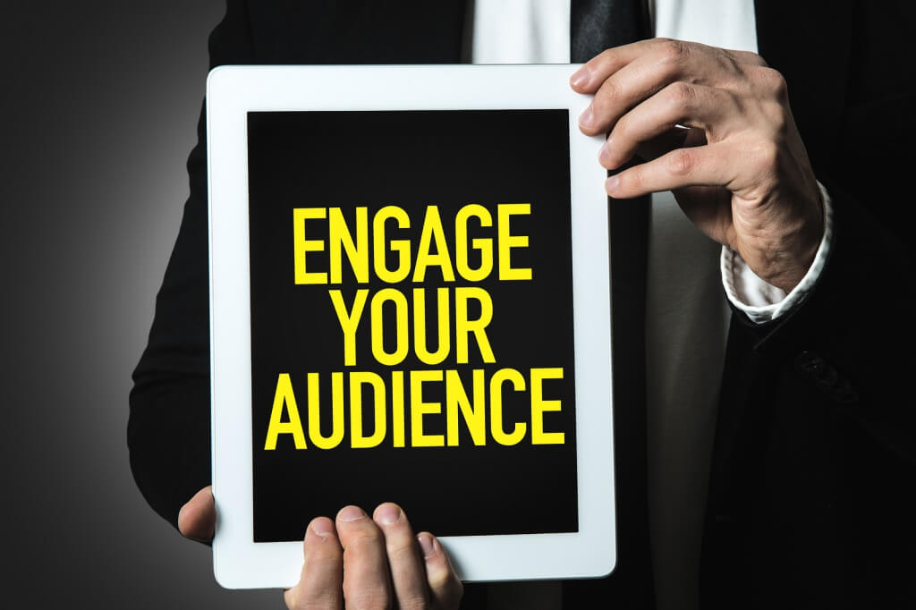 engage online customers
