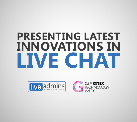LiveAdmins to Present Latest Innovations at GITEX 2015