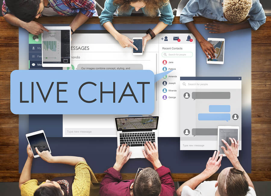 live chat for website