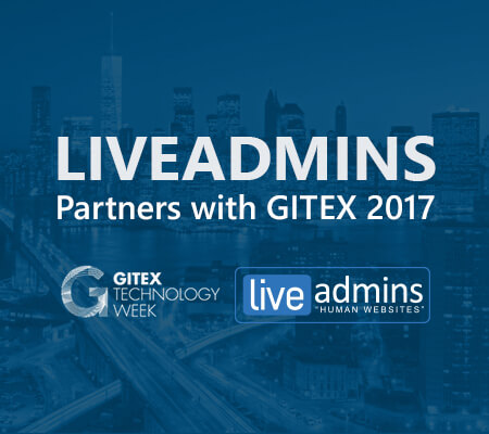 LiveAdmins and GITEX strategic partners once again