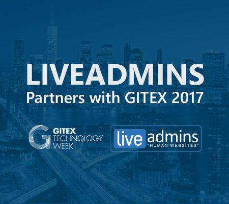 LiveAdmins and GITEX strategic partners once again
