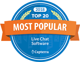 Most Popular Live Chat Logo