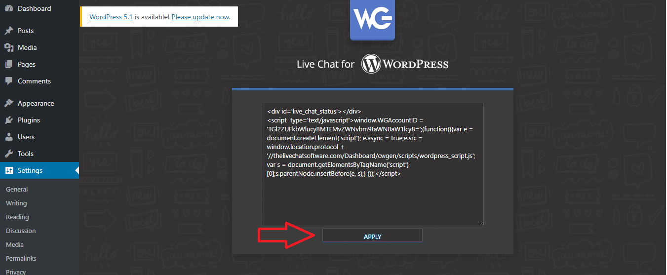 live chat software plugin for wordpress