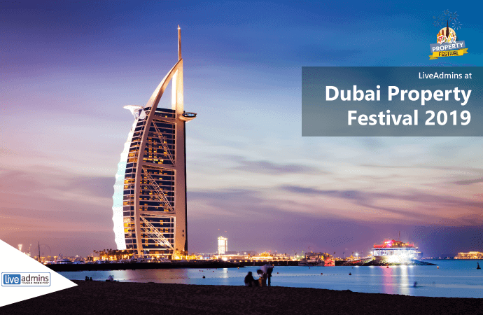 The Future of Live Chat & Real Estate: LiveAdmins to Attend Dubai Property Festival 2019