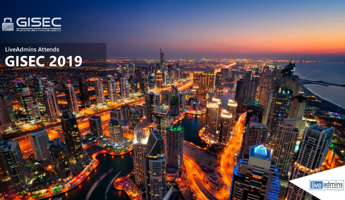 Cyber Security Solutions: LiveAdmins is the Official Live Chat Partner for GISEC 2019