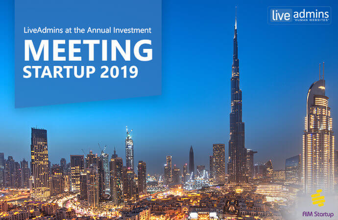 LiveAdmins Set to Attend AIM Startup 2019