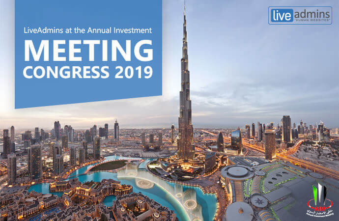 LiveAdmins at the Annual Investment Meeting Congress 2019