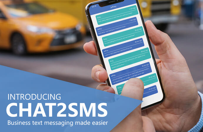 LiveAdmins makes Business Text Messaging Easier with Chat2SMS