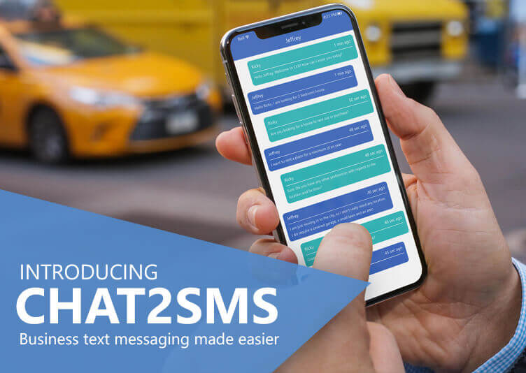 Chat2SMS – Web to sms