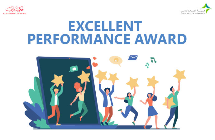 Dubai Health Authority Acknowledged LiveAdmins for Excellent Performance
